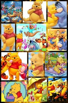Winnie the Pooh Tigger And Pooh, Cute Winnie The Pooh, Winne The Pooh, Winnie The Pooh Quotes, Winnie The Pooh Friends, Eeyore, Cartoon Pics, Cartoon Characters, Winnie The Pooh Pictures