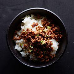 Japan - soboro (sautéed) beef