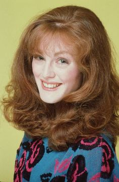 Julianne Moore also started in soaps, in the show ''As the World Turns''  1985