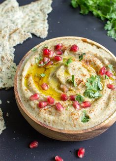 Baba Ganoush - The Father of all Eggplant Dips | hurrythefoodup.com