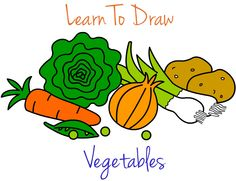 Draw Your Favorite Vegetables! by foodquest   Fawesome.tv