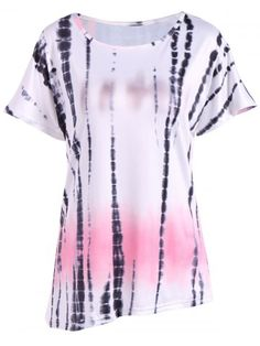 GET $50 NOW | Join RoseGal: Get YOUR $50 NOW!http://www.rosegal.com/blouses/casual-ink-painting-print-ombre-756609.html?seid=7714777rg756609