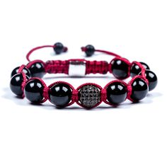 35€ Shamballa bracelets Paracord, Jewelry Watches, Anna, Jewels, Handmade, Necklaces, Bracelet, Ear Studs, Armband
