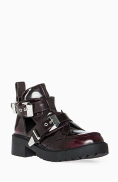 Utility Cutout Ankle Boots Cheap alternative to Jeffrey Campbell Coltranes