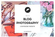 LR Presets Blog Photography Vol III by Filtercrave on @creativemarket