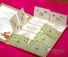 Innovative Wedding Invitation