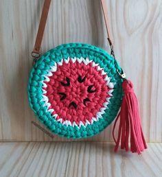 Love Crochet, Crochet Yarn, Crochet Toys, Crochet Stitches, Knitting Patterns, Crochet Patterns, Crochet Market Bag, Yarn Bag, Crochet Purses