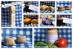 Kleine Brote, Marmeladen, Aufstrich, kleine Gugl und Eierlikör