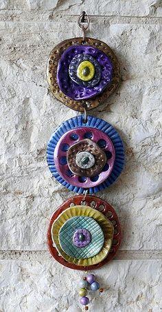Polymer clay, wall decor