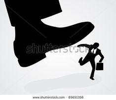 Cartoon Foot Stomping