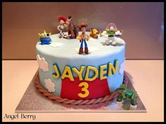 Jaydens Toy Story  on Cake Central