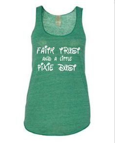 Run Disney  run disney tank top  run disney by runningonthewall, $24.99 Cute for the Tinkerbell half marathon!