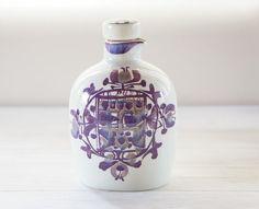 Aluminia Royal Copenhagen Kari Christensen Tenera Bottle / Danish pottery