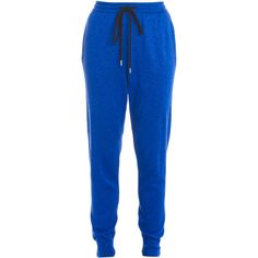 MARKUS LUPFER Lurex Jogging Bottoms ($353) ❤ liked on Polyvore featuring activewear, activewear pants and markus lupfer