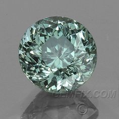 $1195-Montana Sapphire Brilliant Round