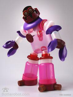un des robots de la bande des Bottlerobot