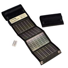 PowerFilm USB + AA Solar Panel Charger - https://www.boatpartsforless.com/shop/powerfilm-usb-aa-solar-panel-charger/