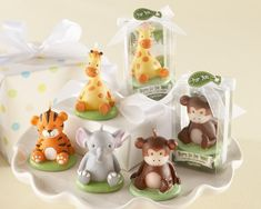 """""""Born to be Wild"""" Animal Candles (Set of 4, Assorted)  Original Unit Price: As low as $1.90  Sale Price: $1.62 (15% off)"""
