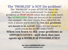 Inspiration by LeeAnne Locken: How to CONQUER Problems QUICKLY!! Happy #WISDOMWednesday!!