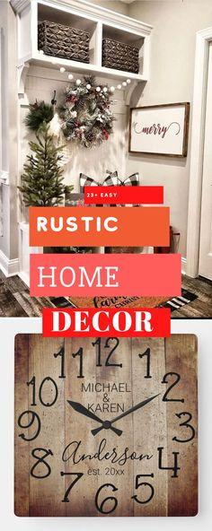 Brilliant Rustic Home Design #rustichomedesign #rusticdecoration Rustic Home Design, Diy Rustic Decor, Rustic Theme, Diy Home Decor, Things To Come, House Design, Decoration, Simple, Pretty