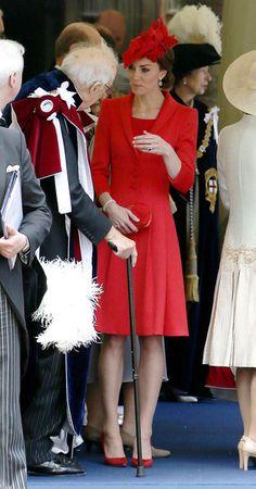 Kate Middleton Photos - Order Of The Garter Service - Zimbio