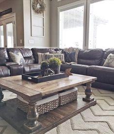 Amazing farmhouse living room design ideas (36)