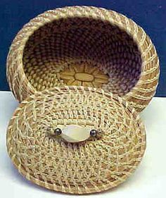 First Basket with Lid, Shelly McCament
