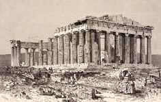 The Ruins of the Parthenon (1886)