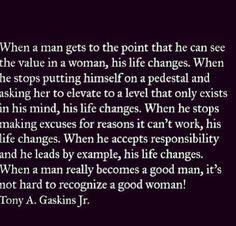 Good men do exist.