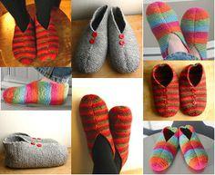 Pieni neuleblogi - ohjeita/patterns: Slippers