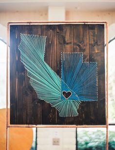 california string art