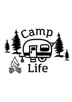 Happy Campers Make Your Next Camping Trip A Success With These Tips. During a camping trip, you typically do not have access to a kitchen, heating or air conditioning. You need to think through everything that you might need Camping Hacks, Camping Signs, Camping Crafts, Camping Life, Tent Camping, Camping Gear, Camping Activities, Camping Checklist, Rv Life