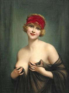 Art Oil painting Francois Martin-Kavel naked nude nice lady with red Headscarf Francois Martin, Claudio Bravo, Pin Up, Collaborative Art, Victorian Art, Classical Art, Erotic Art, Art Google, Art Oil