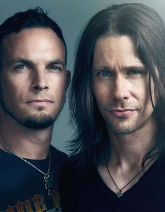 Mark Tremonti & Myles Kennedy - Alter Bridge -- Myles, what is that look on your face?