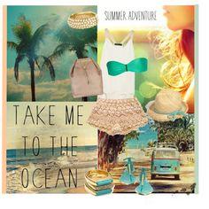 take me to the ocean Take My, Nautical, Ocean, Adventure, Polyvore, Summer, Emerald, Coast, Design