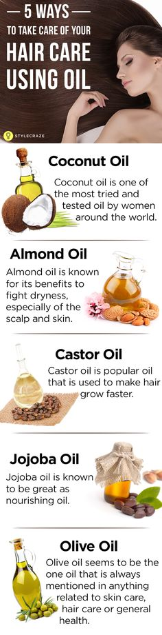 In this day of hectic schedules and an overdose of products, we often look for instant solutions. This is the biggest reason why, even after spending a fortune on hair care products. A time tested hair care method that has taken a back seat amongst these chemical laden products is oiling the hair. Almost all types of oil are good for your hair, but there are some that are extremely beneficial. Here are the 5 oils that Take Care Of Your Hair Care.  #HairCare