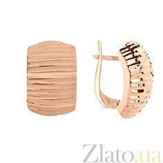 Купить Серьги из красного золота Тиана 02896/п в интернет магазине Злато