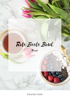 Healthy Superfood Bowl zum Valentinstag mit Roter Beete. Rezept -> ckahr.com/blog