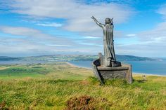 "Manannán mac Lir is a sea deity in Irish mythology. 'Mac Lir' means ""son of the sea"". As well as being a sea god, he is also seen as a psychopomp and is associated with the Otherworld and the veil between the worlds. He is affiliated with both the Tuatha Dé Danann and the Fomorians."