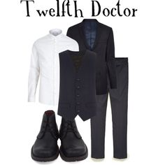 Twelfth Doctor by companionclothes on Polyvore featuring 21 Men, River Island and Clarks