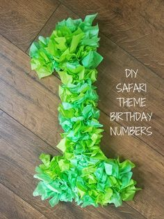 Having a safari theme birthday party? This is extremely easy and affordable decor. Having a safari theme birthday party? This is extremely easy and affordable decor. Safari Theme Birthday, Jungle Theme Parties, Wild One Birthday Party, Safari Birthday Party, 1st Boy Birthday, Boy Birthday Parties, Birthday Diy, Birthday Ideas, Safari Thema