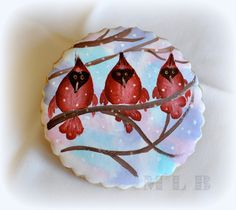 My little bakery :): Painting on the cookies ... http://cakecreationsforyou.blogspot.ca