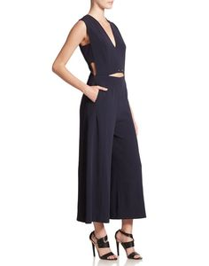 This Derek Lam 10 Crosby Sleeveless Wide-Leg Jumpsuit ($695) is an elevated classic.