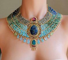 cleopatra neck lace