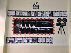 Atatürk köşesi Çiğdem öğretmen Preschool Education, Science Education, Kindergarten Activities, Google Drive, November Bulletin Boards, Art Rules, Harry Potter Birthday, Kids Board, Classroom Door