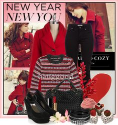 """""""City Red"""" by polybaby on Polyvore"""