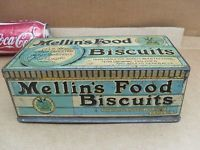 VINTAGE MELLINS FOOD BISCUIT TIN WITH LID