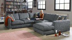 Majestic Fabric Sofa Range | Sofology I would love a U-shaped sofa                                                                                                                                                                                 More