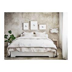 ASKVOLL Estrutura de cama - 140x200 cm, - - IKEA