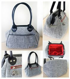 Collage of My Companion Carpet Bag!